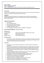Job Profile Of Document Controller Atul Dhoke Document Controller