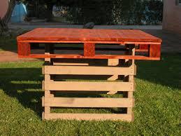 Tavoli Da Giardino In Pallet : Tavoli per bar e pub mobili in pallet