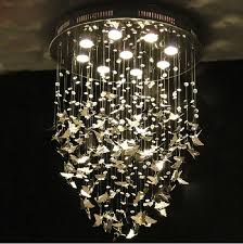 hanging lighting fixtures for home. Modern K9 Crystal Pendant Lights Hanging Lamp Chrome Butterfly For Home Indoor Decor Bedroom Caboche Living Room Light Fixture-in From Lighting Fixtures L