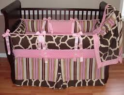 Fancy Baby Nursery Room Design With Giraffe Baby Bedding Set  Heavenly Girl  Baby Nursery Room