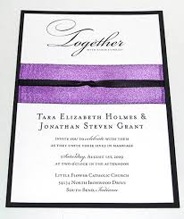 How To Ribbon Embellished Wedding Invitations Paper