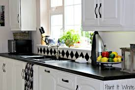 if you like the layout of your kitchen and style cabinets can give them an instant face lift by applying a few coats chalk paintu2026 painted white cabinets f59 kitchen