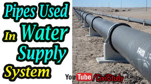 Types Of Pipes Types Of Pipes Used In Water Supply System Ci Pipe Steel Pipe Gi Pipe Copper Pipe Pvc Pipe
