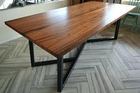 wood table with metal top metal wood table wood dining table with metal legs made in wood table with metal top dining