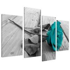 >large canvas pictures of teal flowers and grey pebbles turquoise  item 5 large black white teal rose floral canvas wall art pictures on grey xl split set large black white teal rose floral canvas wall art pictures on grey