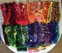 Huge Lot Vtg Paternayan Wool Yarn 2 Ply Mixed Needlepoint