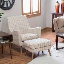 Belham Living Matthias Mid-Century Modern Chair and Ottoman   Hayneedle