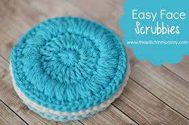 Free Crochet Patterns For Scrubbies Amazing Easy Face Scrubbies Free Pattern The Stitchin Mommy