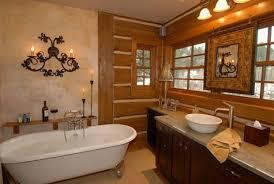 Cabin Bathroom Rustic Cabin Bathroom Decor