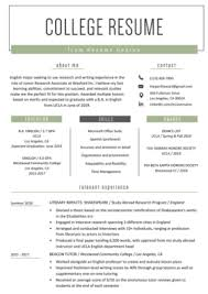 Example Resume Student Internship Resume Samples Writing Guide Resume Genius