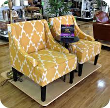 choose yellow accent chairs  home design