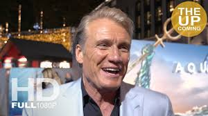 Dolph Lundgren Aquaman premiere interview in London - YouTube