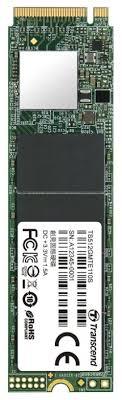 Твердотельный <b>накопитель Transcend</b> 512 GB (TS512GMTE110S ...