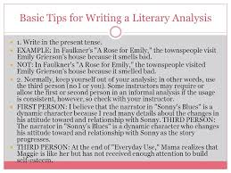 literary analysis ppt  basic tips for writing a literary analysis