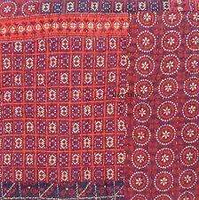Moroccan Quilt   eBay & STUDIO D Rahana QUEEN QUILT SET Cotton MOROCCAN Floral Patchwork Red Purple  NWT Adamdwight.com