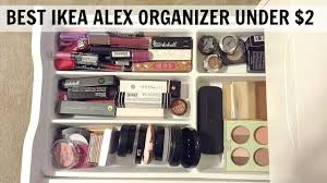 ... White Rectangle Modern Wooden Ikea Drawer Organizers With Powder And  Lipstic Ideas: ...