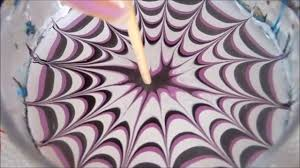 3 More easy water marble nail art step by step tutorial - YouTube