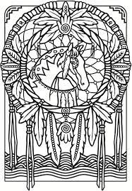 Books About Dream Catchers Dreamcatchers Stained Glass Coloring Book Google Search 47