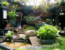 Home Backyard Landscaping Ideas Concept