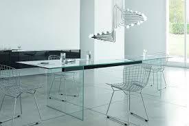 modern glass dining table. Rectangular Modern Glass Dining Tables Gallotti E Radice Table L