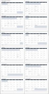 12 Months 2020 Calendar 15 Free Monthly Calendar Templates Smartsheet