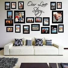 wall frame sticker picture frames