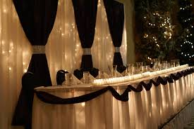 Love Wedding Decorations Dark Purple Wedding Backdrop And Head Table Done By Exquisite