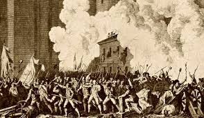 the chinese dream senses concerning the revival of the chinese in the late 18th century bourgeois revolutions broke out in the united states and the picture shows the people of paris of storming the