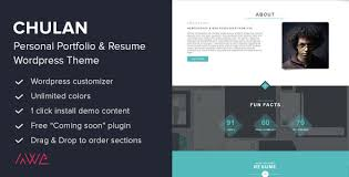 20 Beautiful Resume Wordpress Themes Idevie