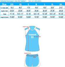 Volleyball Size Chart Volleyball Handball Size Chart