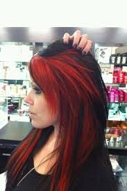 red and black hair cant not wait for to be out so i can