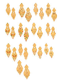 gold earrings latest designs