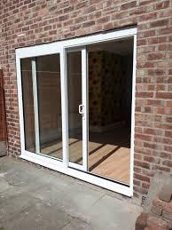 Dual Sliding Patio Doors - Exterior sliding door track