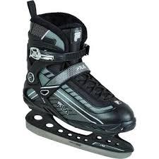 Fila Skates Size Chart Fila Bond Ice Skates Black White