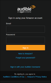 Sign In App How Do I Sign Into The Audible App On A Windows 10 Computer