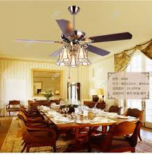 dining room ceiling fan. Furniture: Dining Room Ceiling Fan Amazing LED Crystal Invisible Light Modern With Regard To 29