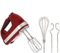 kitchenaid 7 speed hand mixer. kitchenaid 7-speed digital hand mixer with dough hooks - page 1 \u2014 qvc.com kitchenaid 7 speed