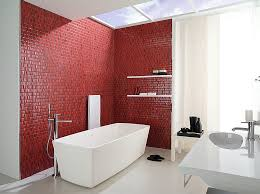 White Bathroom Remodel Ideas Simple 48 Sensational Bathrooms With The Ravishing Flair Of Red