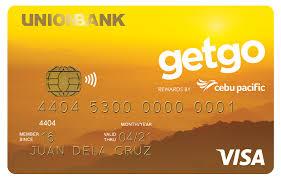cebu pacific getgo credit card