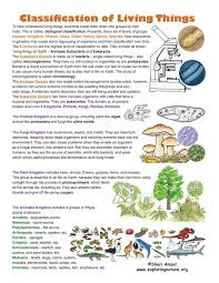 Classification Of Living Things Find This On