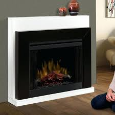 electric fireplace without mantle cner contempary mantels home depot
