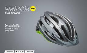 Bell Drifter Helmet Size Chart Bell Drifter Mips Adult Road Bike Helmet Logic Matte Gloss Slate Gray Orange 2019 Small