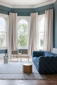 Window Designs For Living Room 17 Best Ideas About Bay Window Curtains On Pinterest Bay Window