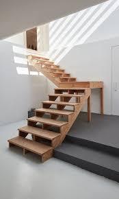 Simple Wood Stairs Design Take A Look Around Rick Rubins Comfortably Minimalist Home