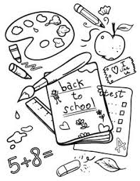 Small Picture 25 Back to School Coloring Pages backtoschool b2s Popular