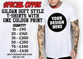 Design Your Own T Shirt Gildan