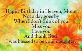 Happy Birthday Mom In Heaven Quotes. QuotesGram via Relatably.com