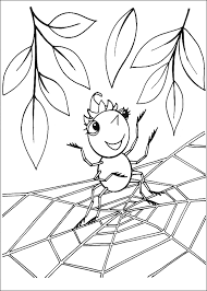 Small Picture Spider coloring page Animals Town animals color sheet Spider