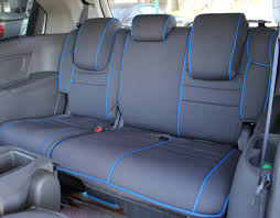 honda odyssey full piping seat covers