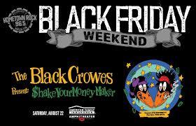 <b>Black Crowes Black</b> Friday Weekend - 96.5 WKLH
